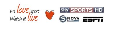 We Love Sport - watch it here, Sky Sport, ESPN, NOVA Sport